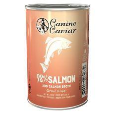 Feuchtnahrung Canine Caviar SALMON Grain Free 375 g