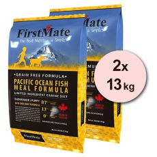 FirstMate Pacific Fish PUPPY 2 x 13 kg