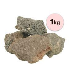 Vulkansteine für Aquarium Black Volcano Stone M - 1kg