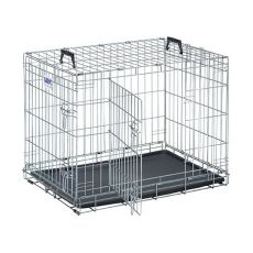 Gitterkäfig für Hunde und Katzen Dog Residence 76 x 53 x 61 cm