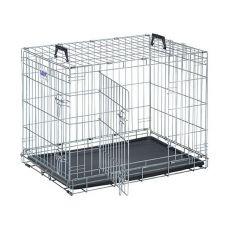 Gitterkäfig für Hunde und Katzen Dog Residence 91 x 61 x 71 cm