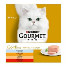 Dose GOURMET GOLD Pastete, 8 x 85 g