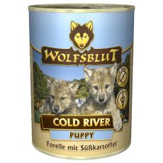 Nassfutter WOLFSBLUT Cold River PUPPY, 395 g