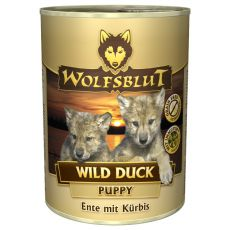Nassfutter WOLFSBLUT Wild Duck PUPPY, 395 g