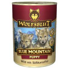 Feuchtnahrung WOLFSBLUT Blue Mountain PUPPY, 395 g