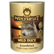Feuchtnahrung WOLFSBLUT Wild Duck, 395 g