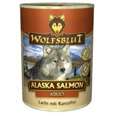 Nassfutter WOLFSBLUT Alaska Salmon, 395 g