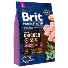 Brit Premium by Nature Junior Small 3 kg