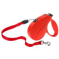 Führleine Amigo Easy Medium bis 25 kg - 5 m Seil, Rot