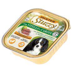 Schälchen Mister STUZZY Dog - Kalb und Karotte, 150g