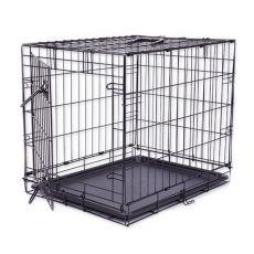 Käfig Dog Cage Black Lux, S - 61,5 x 42,5 x 50 cm