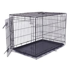 Käfig Dog Cage Black Lux, XL - 107,5 x 74,5 x 80,5 cm