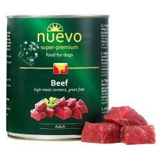 Feuchtnahrung NUEVO DOG Adult Beef 800 g