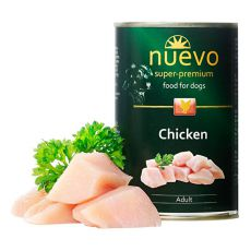 Nassfutter NUEVO DOG Adult Chicken 400 g