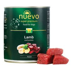 Feuchtnahrung NUEVO DOG Adult Lamb & Potato 800 g
