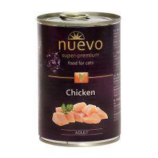 Feuchtnahrung NUEVO CAT Adult Chicken 400 g