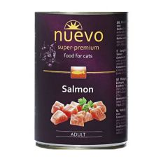 Feuchtnahrung NUEVO CAT Adult Salmon 400 g