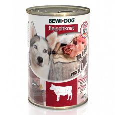 New BEWI DOG Nassfutter – Rindfleisch, 400 g
