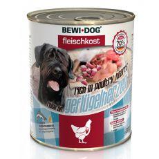 New BEWI DOG Feuchtnahrung – Geflügelherzen, 800 g
