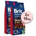 Brit Premium by Nature Adult Large 2 x 15 kg
