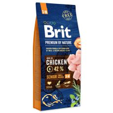 Brit Premium by Nature Senior Small und Medium 15 kg