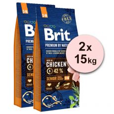 Brit Premium by Nature Senior Small und Medium 2 x 15 kg