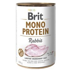 Nassfutter Brit Mono Protein Rabbit, 400 g