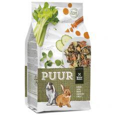 PUUR Rabbit - Gourmet Müsli für Kaninchen 600 g