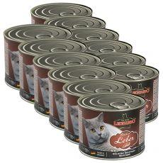 Dosenfutter für Katzen Leonardo - Leber 12 x 200g