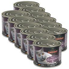 Dosenfutter für Katze Leonardo - Kaninchen 12 x 200g