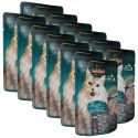 Nassfutter Leonardo Fisch und Shrimps, 12 x 85 g
