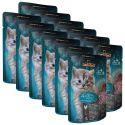 Feuchtnahrung Leonardo Kitten, 12 x 85 g