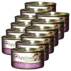 Applaws Cat - Dose für Katzen mit Makrele und Sardinen, 12 x 70g