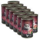 Dosenfutter für Katzen Leonardo - Geflügel 12 x 400g