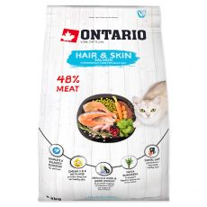 Ontario Cat Hair & Skin Salmon 2 kg