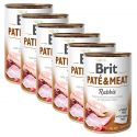 Nassfutter Brit Paté & Meat Rabbit 6 x 400 g