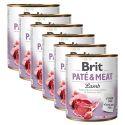 Feuchtnahrung Brit Paté & Meat Lamb 6 x 800 g