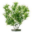 Aquariumpflanze aus Kunststoff - ausgefranste Blätter, 28 cm