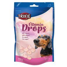Trixie Vitamin Drops für Hunde, Joghurt - 200 g