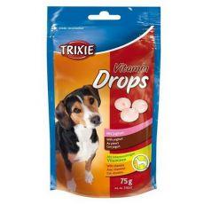 Trixie Vitamin Drops für Hunde, Joghurt - 75 g