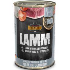 BELCANDO Lamm mit Reis und Tomaten - Nassfutter 400g