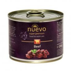 Feuchtnahrung NUEVO CAT Adult Beef 200 g