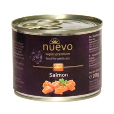 Feuchtnahrung NUEVO CAT Adult Salmon 200 g