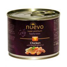 Feuchtnahrung NUEVO CAT Kitten Chicken 200 g