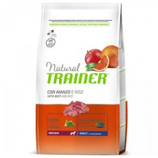 Trainer Natural Adult Medium, Rind und Reis 3 kg