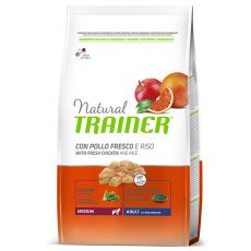 Trainer Natural Adult Medium, Huhn und Reis 3 kg