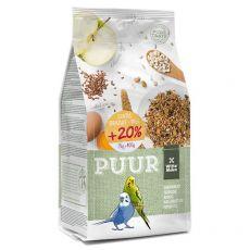 PUUR Budgie - Gourmet-Mischung für Sittiche 2 kg + 400 g GRATIS
