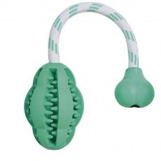 Hundespielzeug für Zahnpflege mit Minzaroma