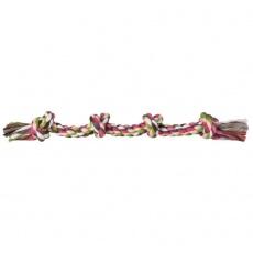 Hunde Spieltau aus Baumwolle mit Knoten - 54cm