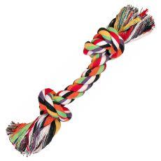 Hundespielzeug - Baumwollseil mit Knoten mini - 15cm